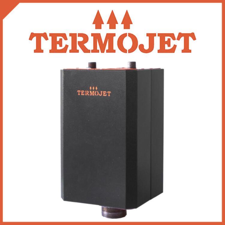 Охладитель для твердотопливных котлов TERMOJET СК-58 в кожухе