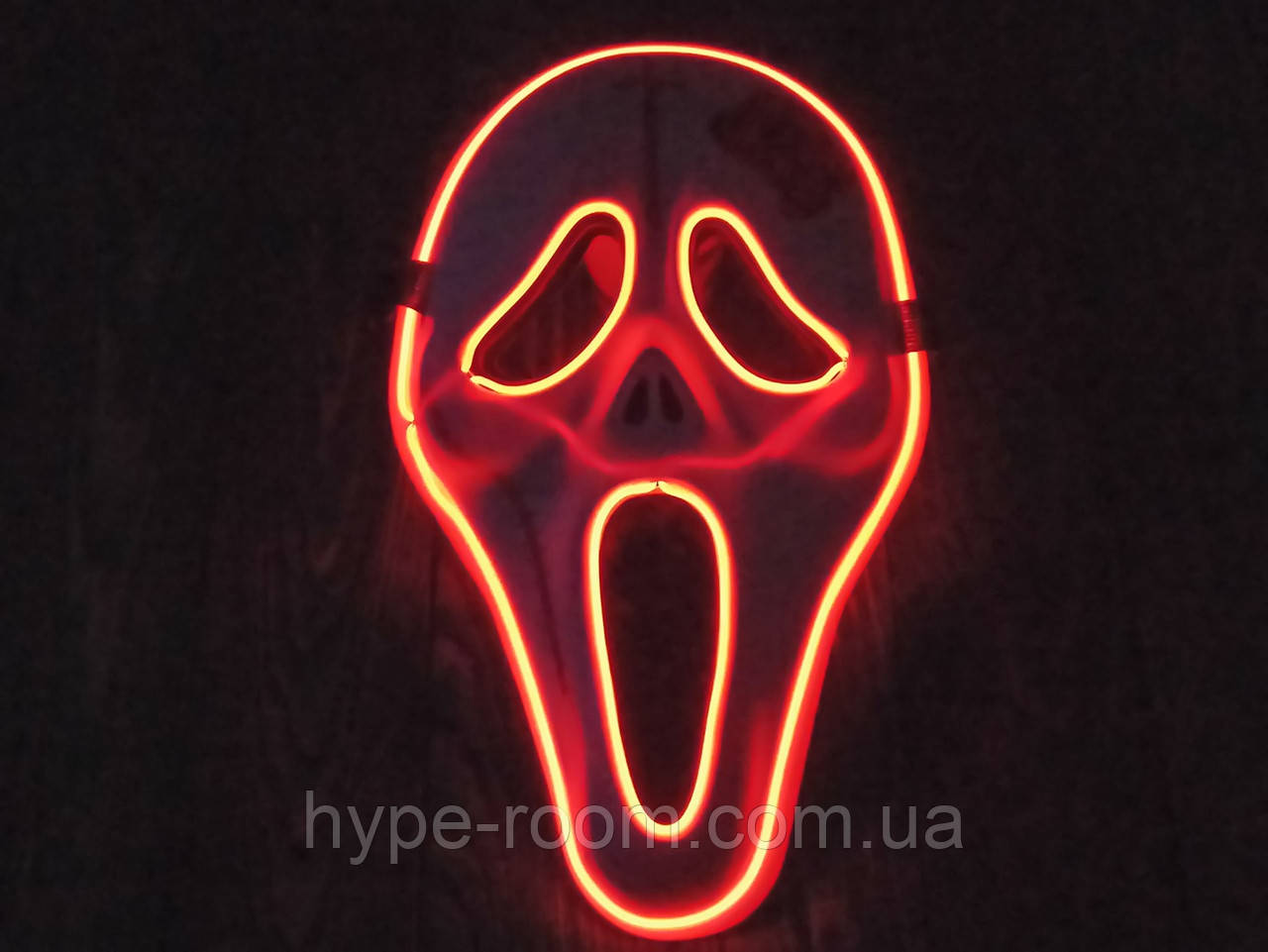 Світлодіодна LED маска, що світиться маска