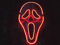 Світлодіодна LED маска, що світиться маска, фото 1