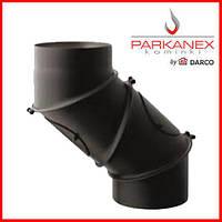 Колено для дымохода универсальное Parkanex 150мм (4 елементы)