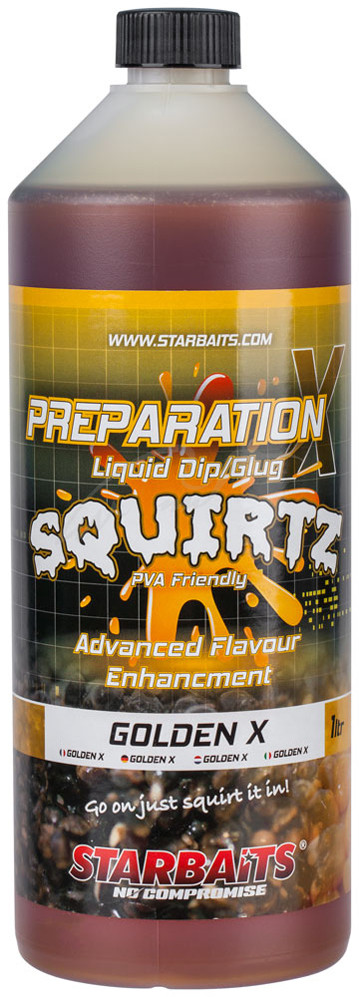 Ликвид Starbaits Prep X Squirtz Golden X 1L