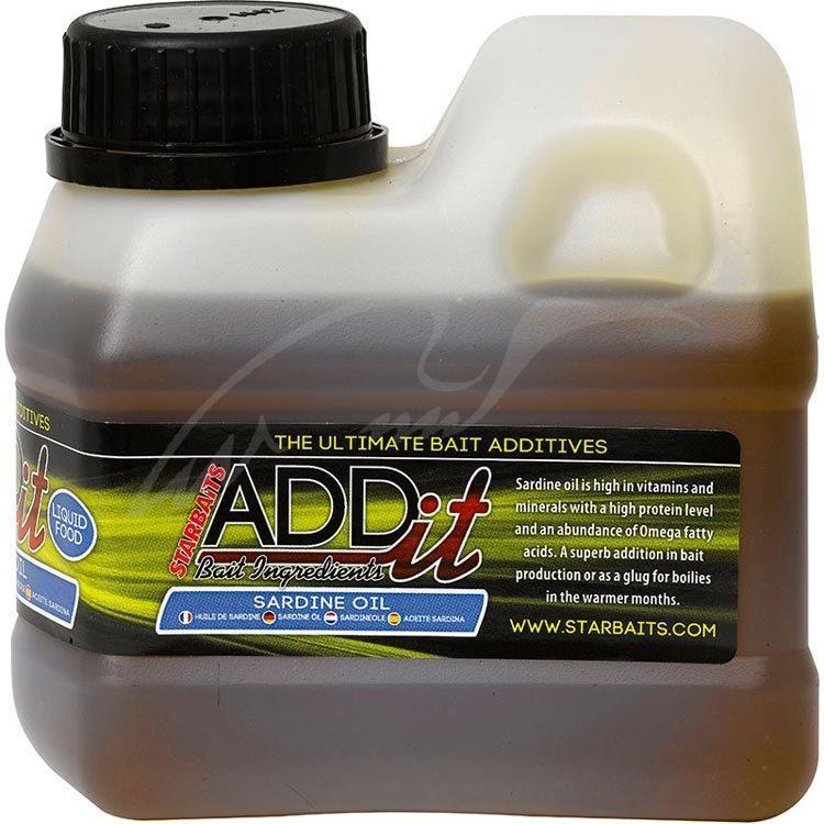 Ліквід Starbaits Add'it Sardine Oil 500ml