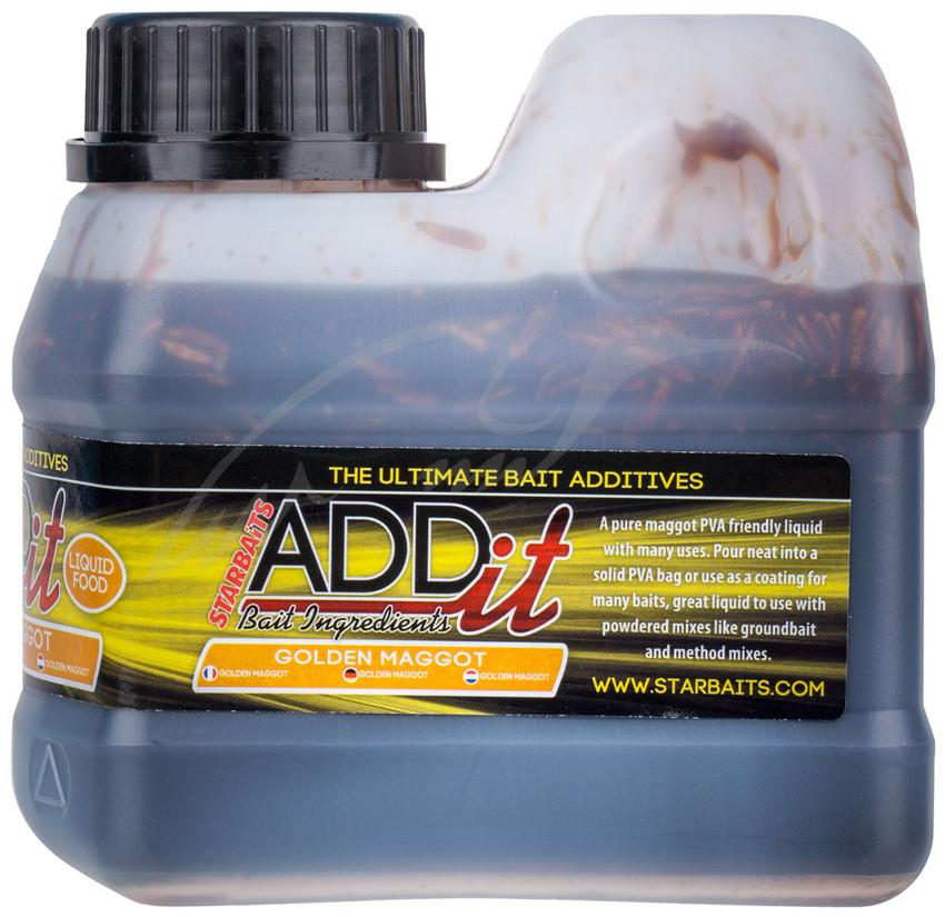 Ліквід Starbaits Add'it Liquid Maggots 500ml