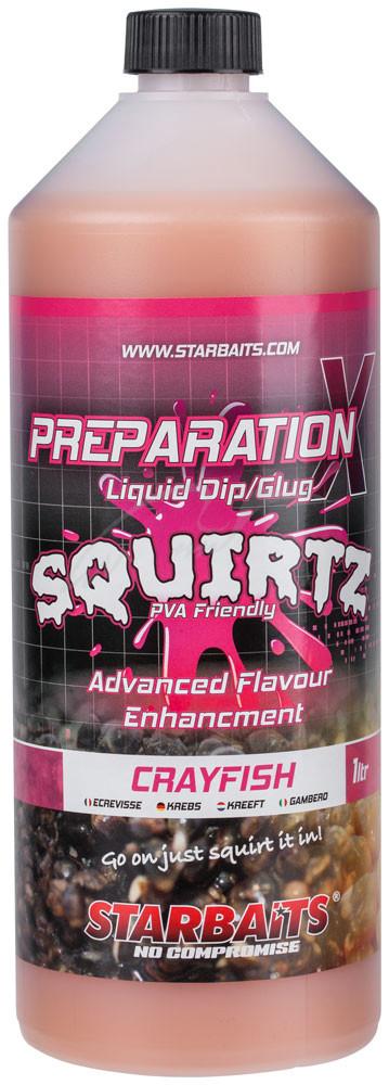 Ликвид Starbaits Prep X Squirtz Crayfish 1L