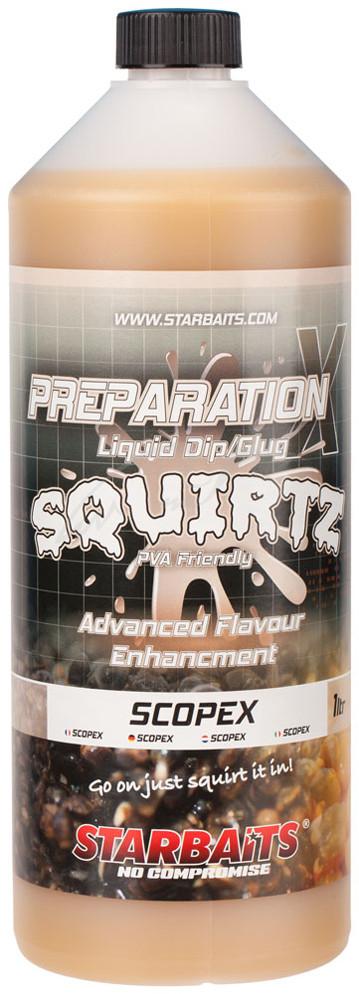 Ликвид Starbaits Prep X Squirtz Scopex 1L