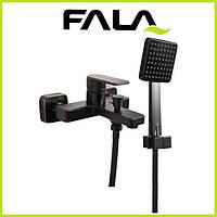 Смеситель для ванны FALA Retro Black 3 75816