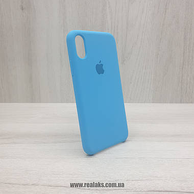 Чохол Silicone Case для Apple iPhone X / Xs blue, фото 2