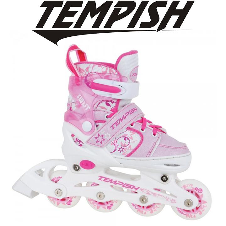 Детские раздвижные роликовые коньки Tempish Swist