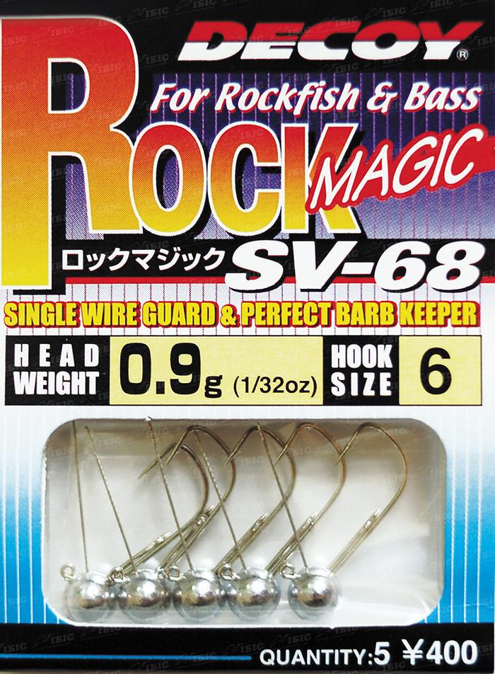 Джиг головка Decoy Rock Magic SV-68 #4 2.5 g (5 шт/уп)
