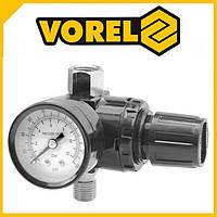 """Редуктор компрессора с манометром 40 мм M=3/8"""" VOREL-81562"""