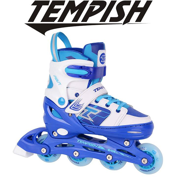 Детские раздвижные роликовые коньки Tempish Swist Flash (светящиеся колеса)