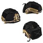 Кавер Fast Helmet w pocket Black, фото 7