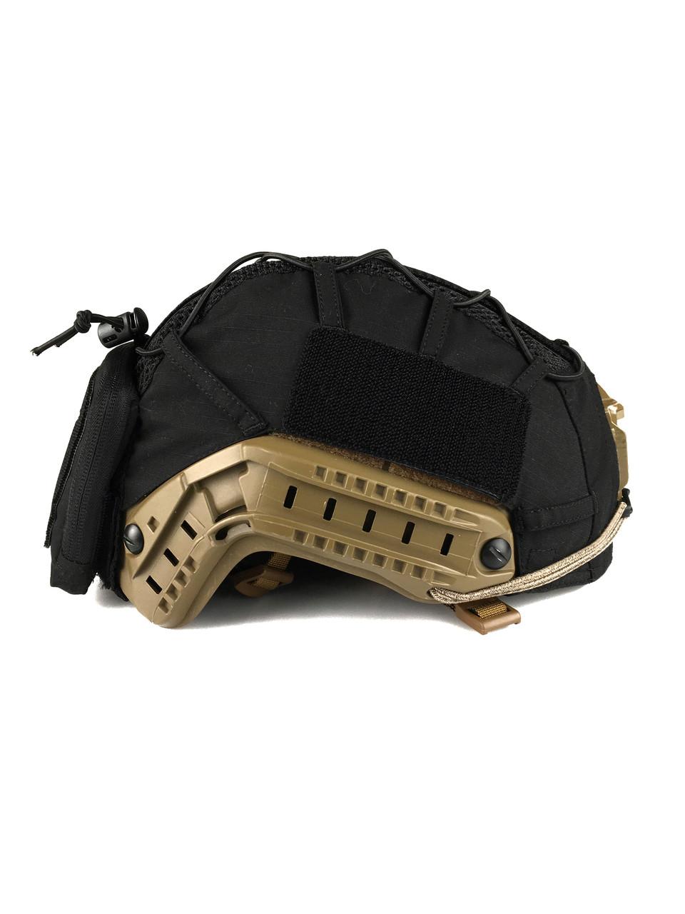 Кавер Fast Helmet w pocket Black