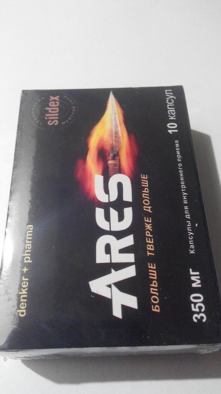 Капсулы  для потенции ARES (АРЕС)