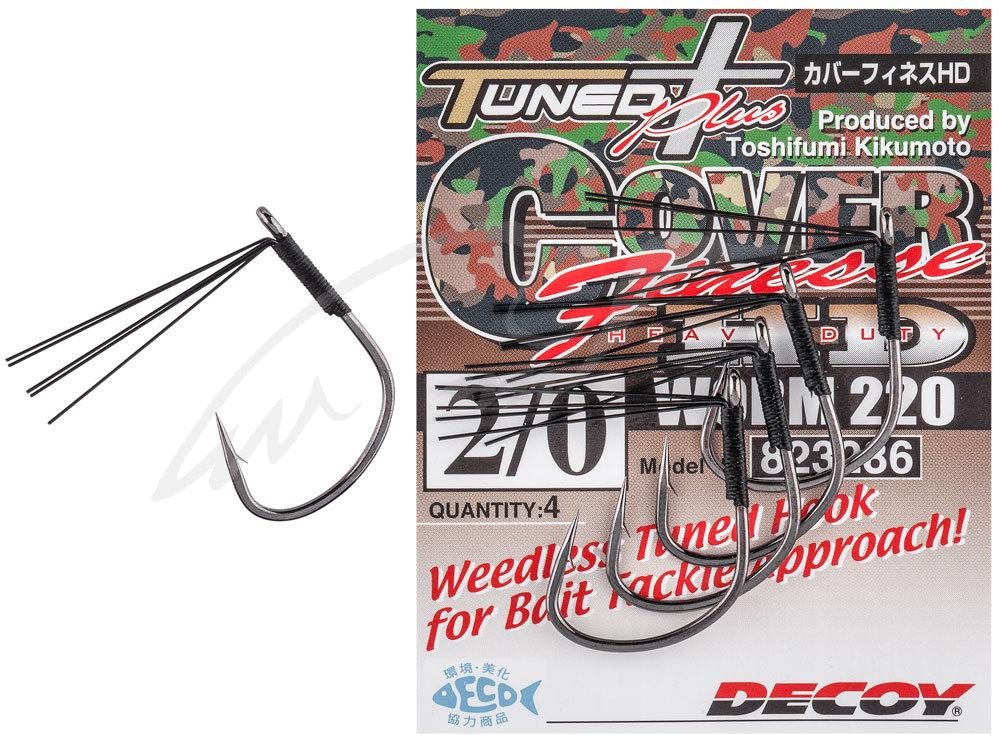 Гачок Decoy Worm220 Cover Finesse HD #1/0 (5 шт/уп)