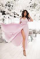 Легкое нарядное платье в пол, фото 3