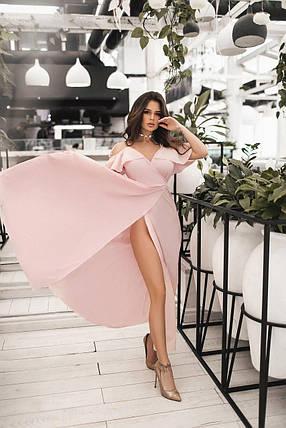 Легкое нарядное платье в пол, фото 2