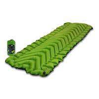 """Спальный коврик (каремат) надувной """"Klymit Static V2"""", [194] GREEN"""