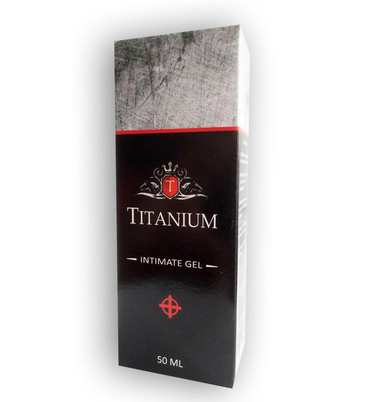 Titanium - Гель для повышения потенции (Титаниум)