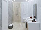30х60 Керамическая плитка стена Lazurro Лазуро светло-серый, фото 2
