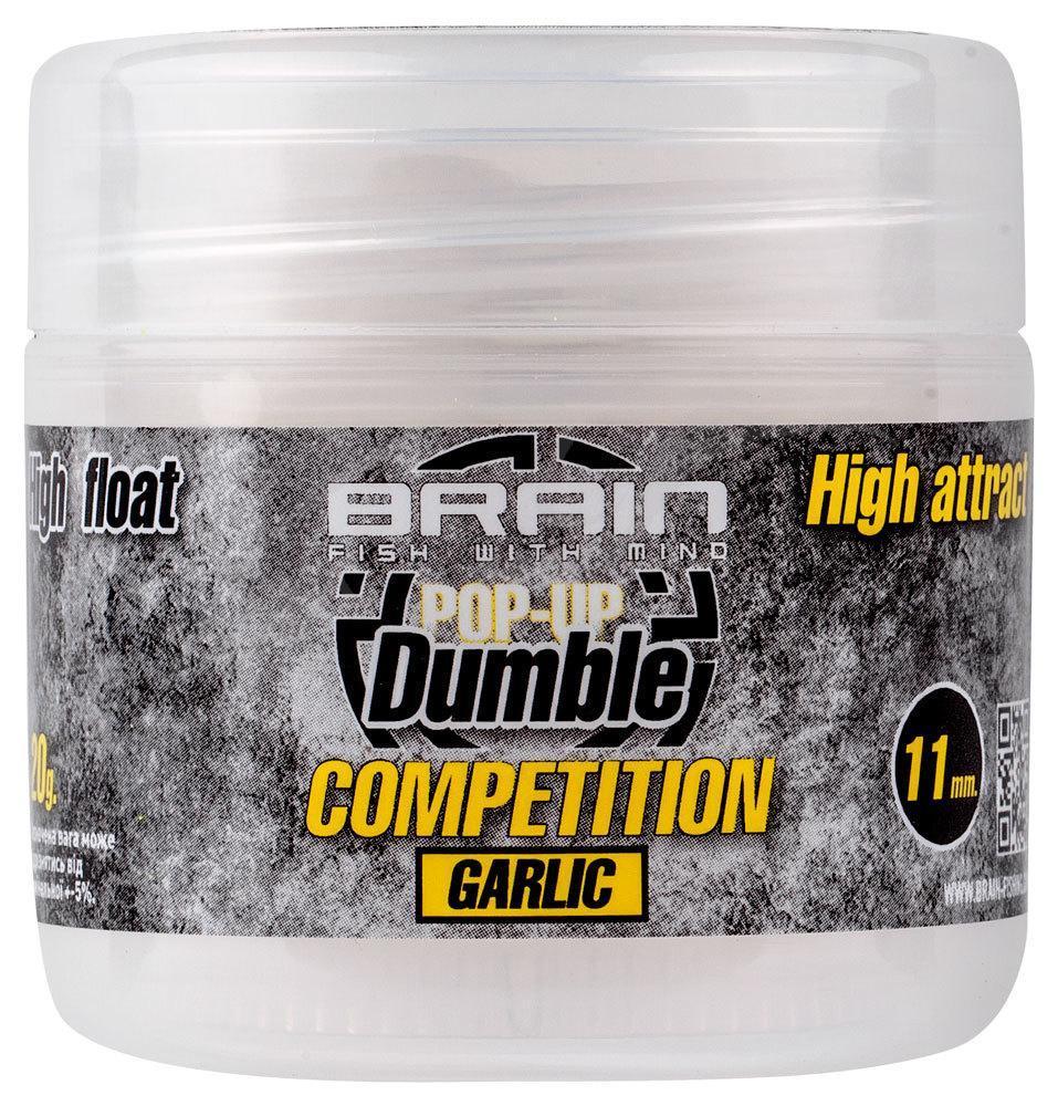 Бойлы Brain Dumble Pop-Up Competition Garlic 11mm 20g