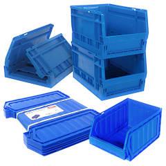Ящики трансформеры пластиковые для склада