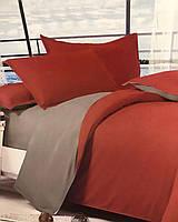 Однотонный комплект постельного белья из Сатина, полуторный размер