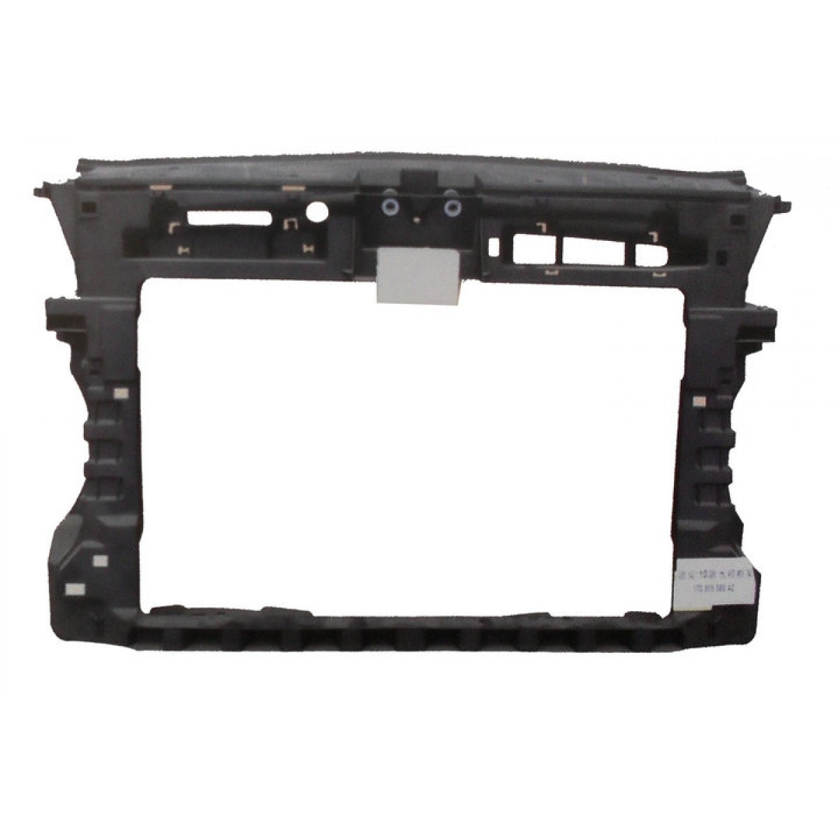 Передняя панель VW Caddy 2010-2015 (без вертикальной и боковых частей) (FPS) 1T0805588AC