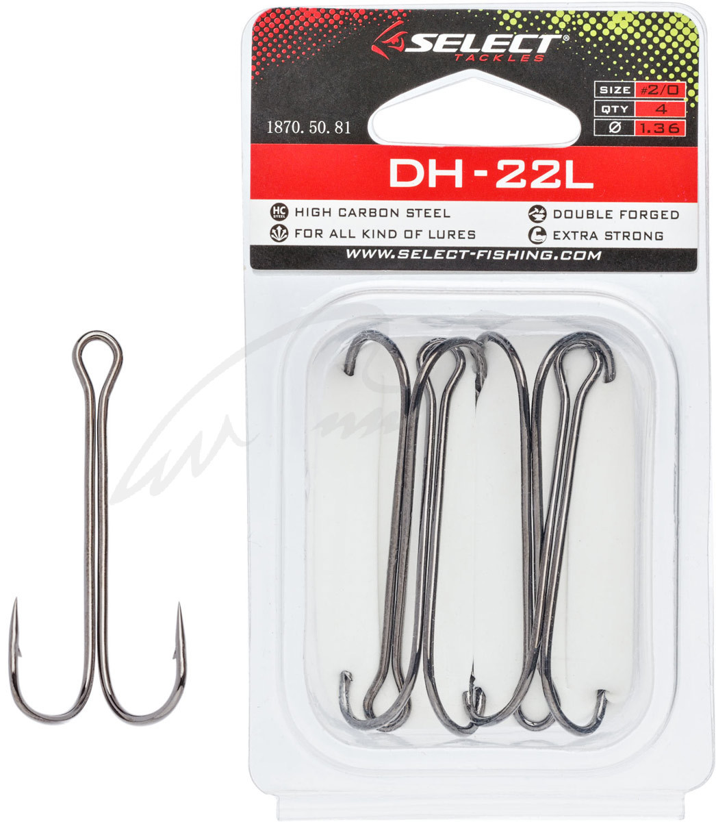 Двойник Select DH-22L #5/0 (3 шт/уп)