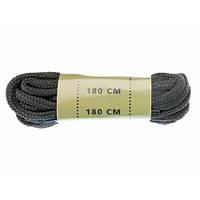 Шнурки обувные (180 см), полиэстер, [019] Black