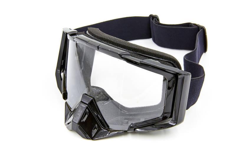 Мото окуляри JIE POLLY Black J027 Clear