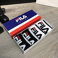 Socks Fila Pack 4 White/Black, фото 1