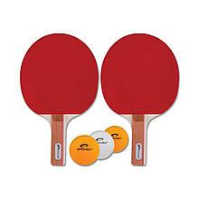 Набор для настольного тенниса Spokey Standart Set 81813 (original), набор для пинг-понга, ракетка+мячик