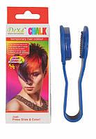 Мелок для волос DeXd Chalk Синий hublHuJ72294, КОД: 295391
