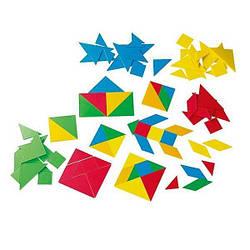 """Детский набор для обучения - головоломка """"Танграм"""" Gigo, 15 х 19 х 7 см"""