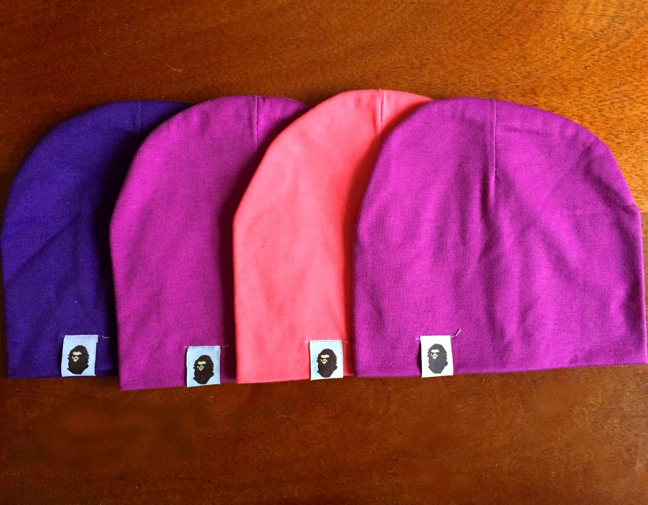 Шапочки для девочек трикотажные