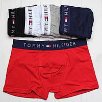 Мужские трусы боксеры Tommy Hilfiger (хлопок, 5 цветов), фото 1
