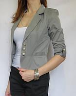 Пиджак №12 р. 46; 48; 50 серый