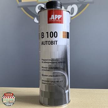 Битумное средство для защиты шасси APP B100 Autobit, 1 л
