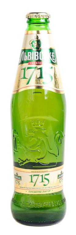 Пиво Львівське 0,45л 1715 4,7%
