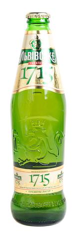 Пиво Львівське 0,45л 1715 4,7%, фото 2