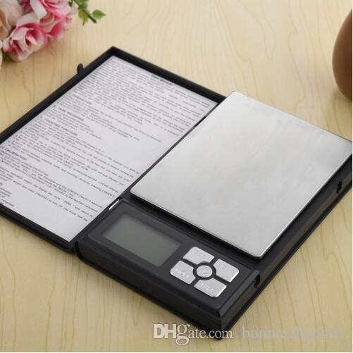 Карманные ювелирные электронные весы в виде книжки 0,01-500 гр