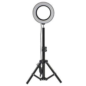 Стойка блогера YaoYi JY-160 3 в 1 Holder L-50 штатив кольцевая LED лампа 16 см держатель для смартофона