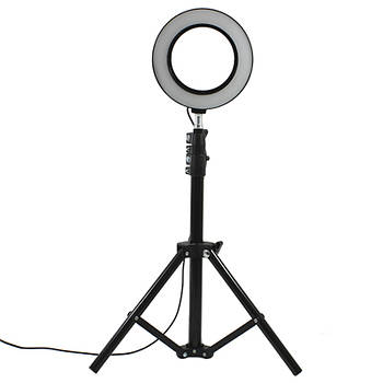 Стойка блогера YaoYi JY-160 3 в 1 Holder L-100 штатив кольцевая LED лампа 16 см держатель для смартофона