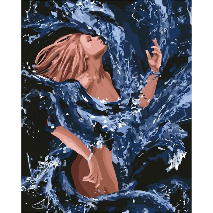 """Картина по номерам """"Стихия воды"""" 40*50см KHO4720"""