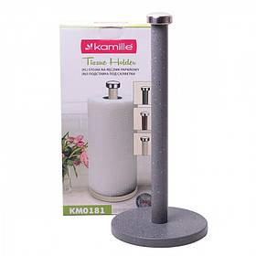 Держатель для бумажных полотенец Kamille (0181) вертикальный