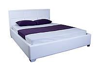 Кровать MELBI Агата Двуспальная 180х200 см Белый KS-011-02-6бел, КОД: 1733535