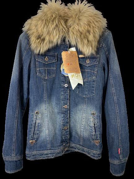 Куртка женская M.O.D цвет темно-синий джинс размер S арт AU15-JA134