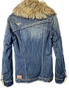 Куртка женская M.O.D цвет темно-синий джинс размер S арт AU15-JA134, фото 7