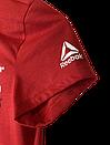 Футболка женская Reebok цвет красный размер S арт CF5765, фото 2